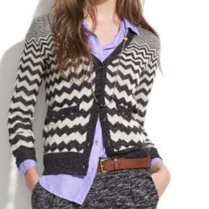 Wallace for Madewell Graphic Songstress Cardigan